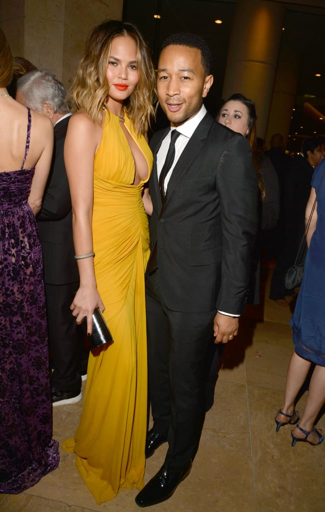 Chrissy Teigen and John Legend were a fashionable pair.