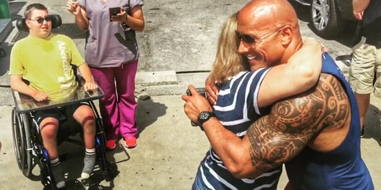 Dwayne 'The Rock' Johnson Shares Touching Story About Meeting Fan