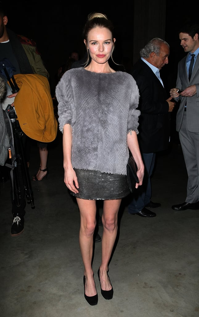 Kate Bosworth wore Topshop at the Topshop Unique Fall 2013 show in London.
