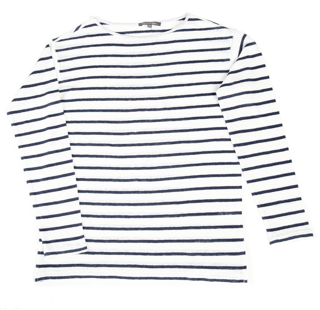 Michael Stars linen striped top ($94)
