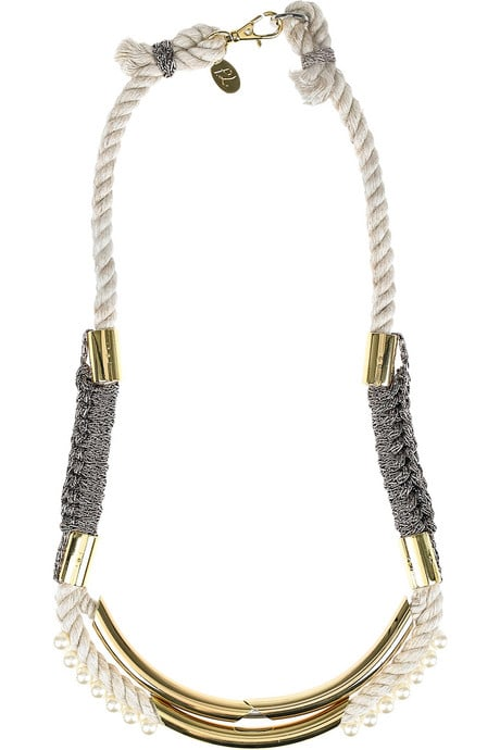3.1 Phillip Lim Long Jagger Tube Necklace ($225)