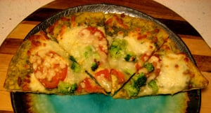Review of Amy's Kitchen Pesto Pizza