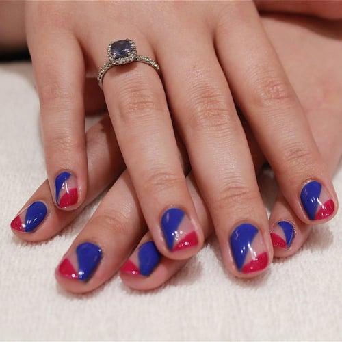 Q Riouser Q Riouser Nail Art: Fourth Of July Nail Art