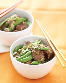 Fast & Easy Dinner: Beef Stir-Fry with Snap Peas