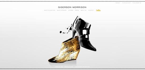 Sigerson Morrison Remodels Online Home