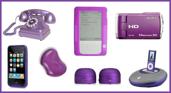 Technicolor Toys: Purple Gadgets and Accessories