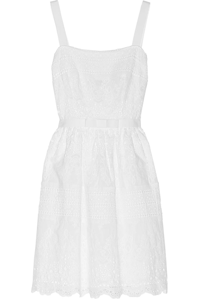 Collette Dinnigan White Cotton Dress