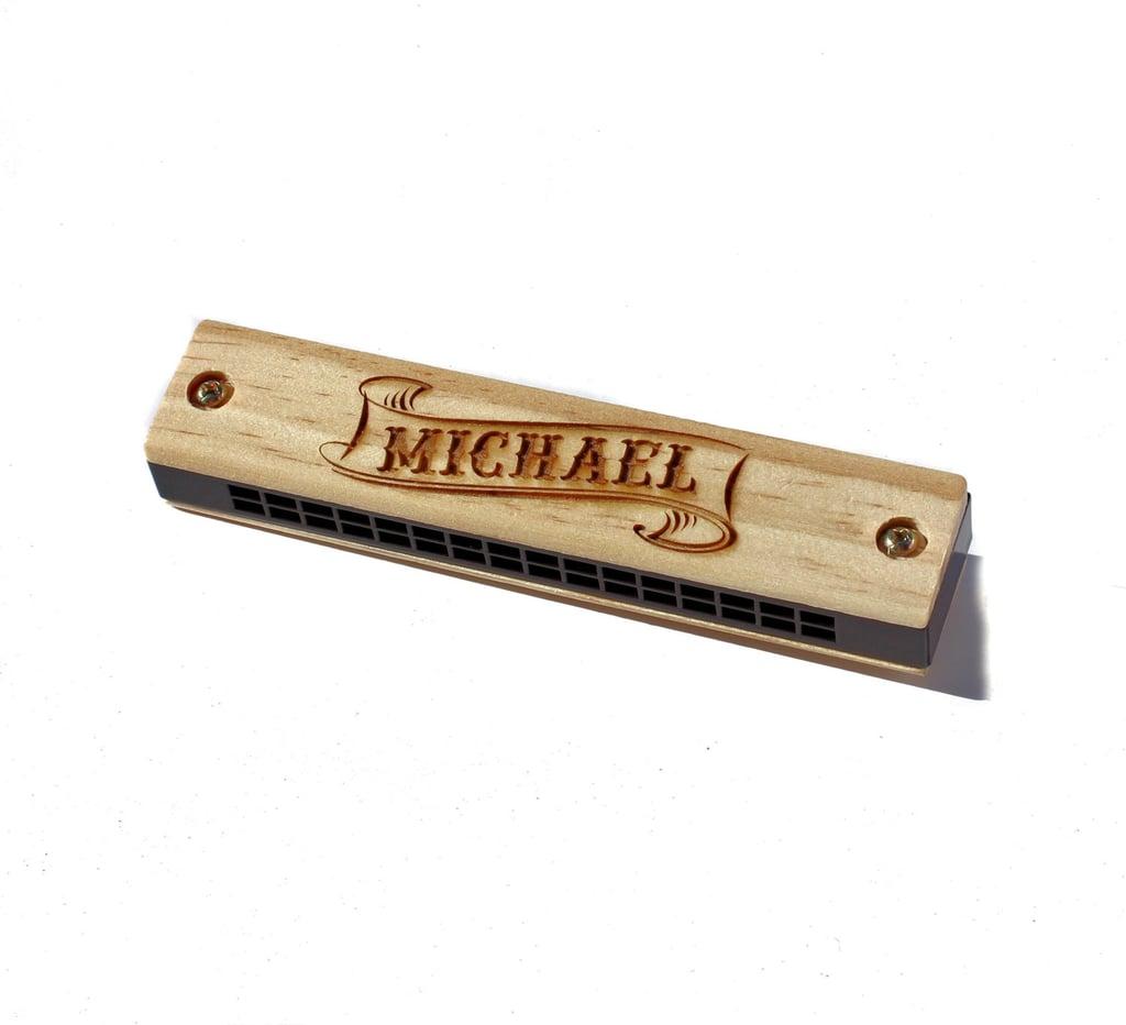Scissor Mill Personalized Harmonica ($11)