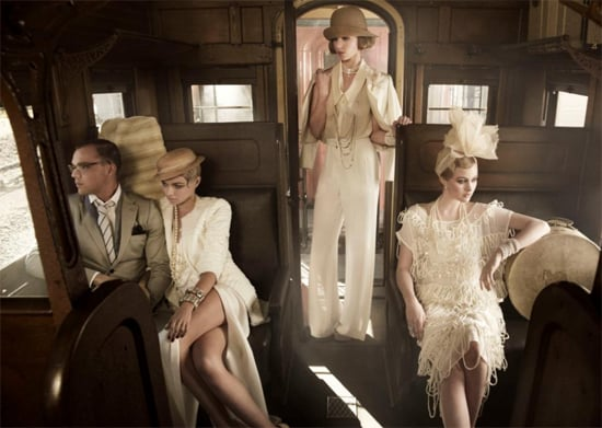 The Great Gatsby-inspired hair and makeup during week eight's episode was by far one of our favourite looks. Image by Jordan Graham. Courtesy of FOXTEL