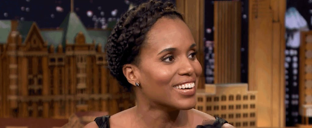 You'll Never Guess Which Famous Star Taught Kerry Washington How to Dance