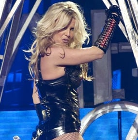 Britney Spears Performs on Good Morning America