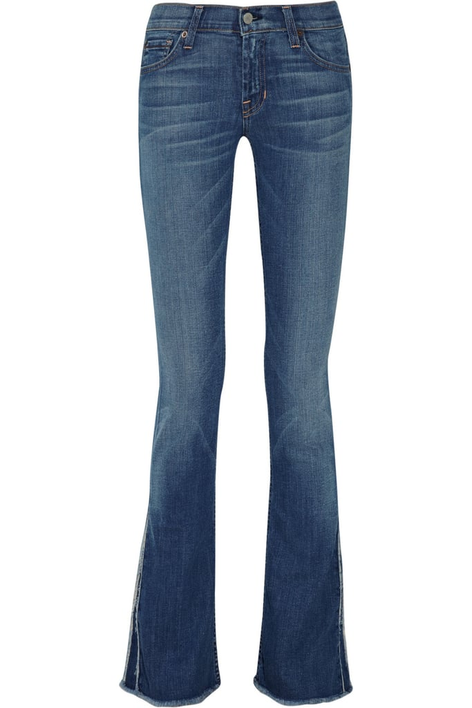 Never underestimate the power of a great pair of classic bootcuts — this low-rise, medium-wash pair of Textile Elizabeth and James Billy Jeans ($95, originally $195) are an ideal buy.