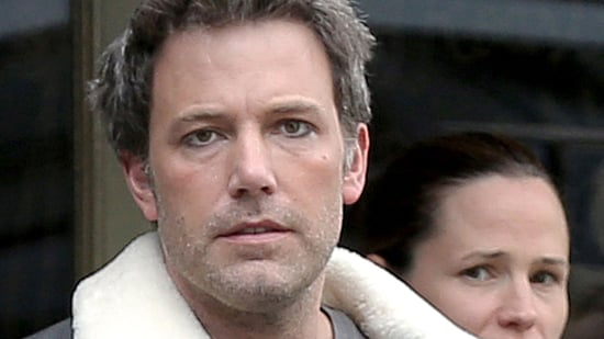 Ben Affleck Wears Eyeliner During Family Outing With Jennifer Garner and Kids -- See the Pic