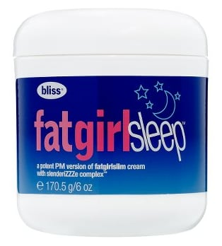 Monday Giveaway! Bliss Fat Girl Sleep