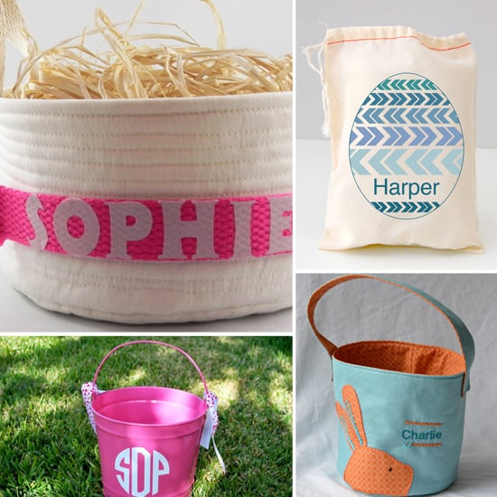 """""""Egg""""-cellent! 5 Personalized Easter Baskets to Order Now"""