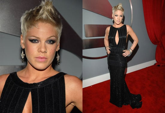 The Grammys Red Carpet: Pink