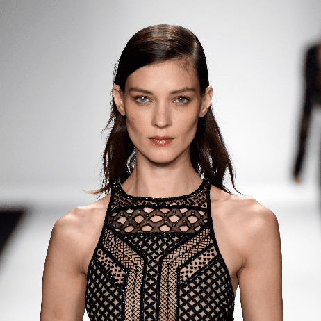 J. Mendel Spring 2014 Hair and Makeup | Runway Pictures