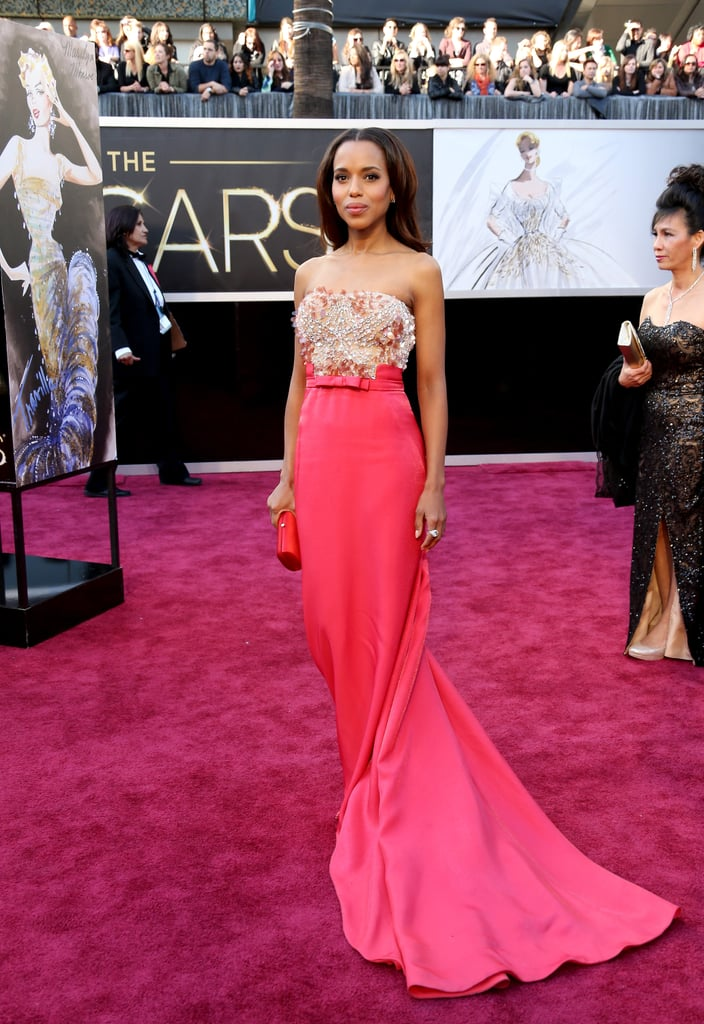 Kerry Washington at the 2013 Academy Awards