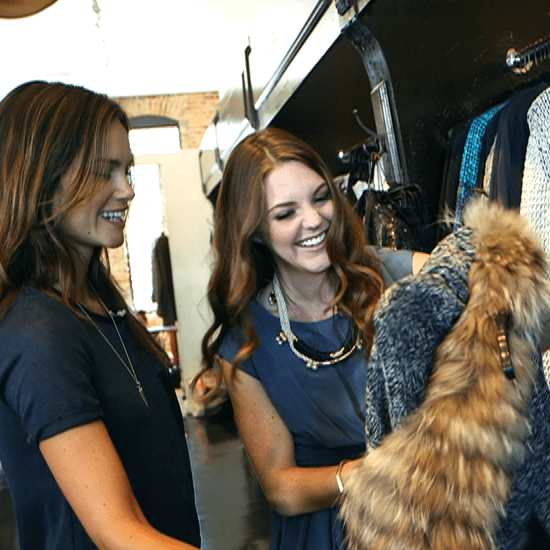 How to Wear a Chunky Sweater (Video)