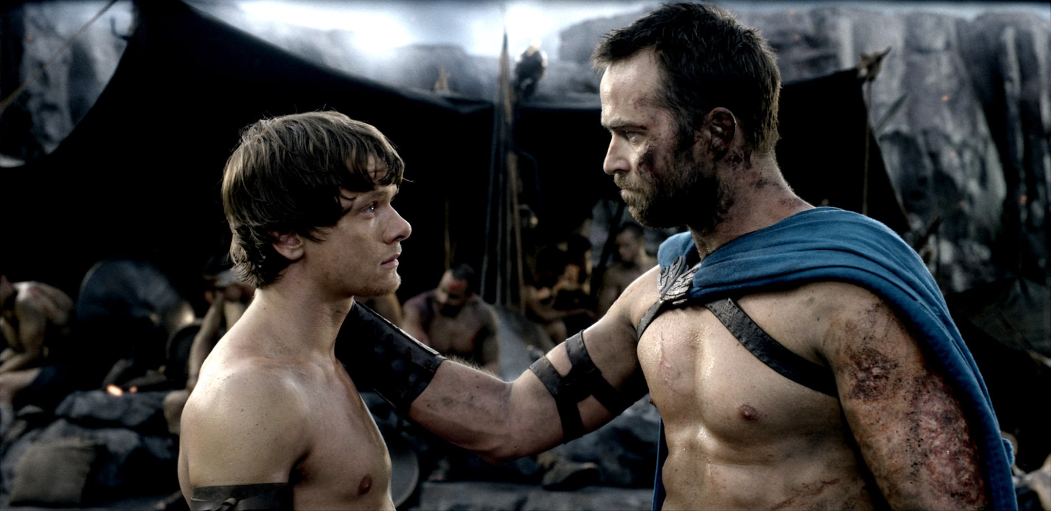 Jack O'Connell and Sullivan Stapleton, 300: Rise of an ...