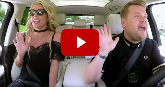 "Britney Spears' ""Carpool Karaoke"" Is the Best Thing You'll See All Day"