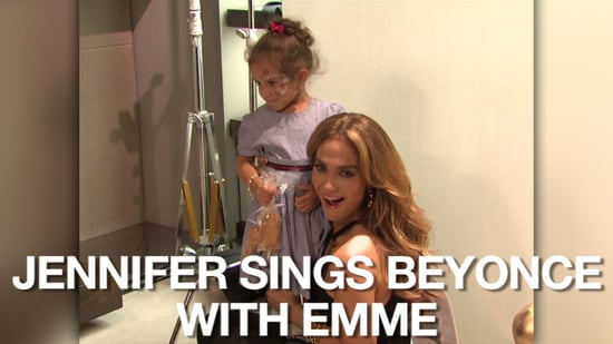 Video of Jennifer Lopez and Emme Anthony Singing Single Ladies at a Gucci Event