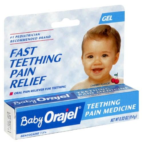 Warning on Baby Orajel