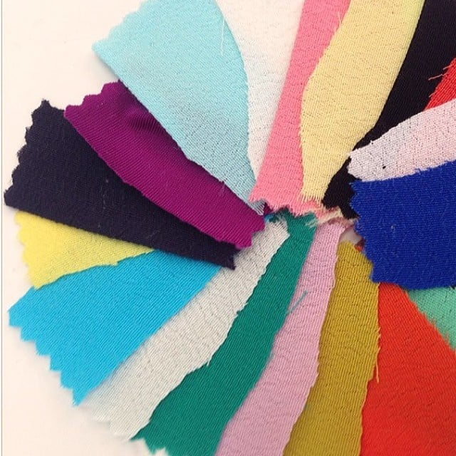 Sneak peek at the colour swatches we'll be seeing at By Johnny's Fashion Week runway show.