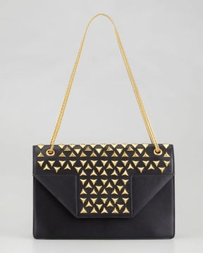 Saint Laurent Betty studded chain shoulder bag ($3,450)