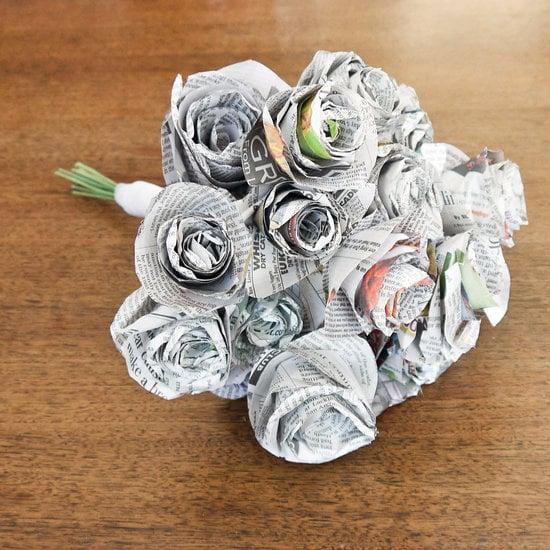 Newspaper Bouquet