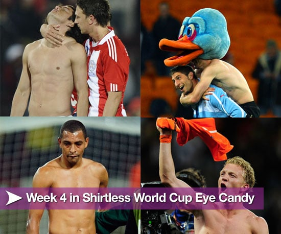 Pictures of Shirtless Soccer Players From Week Four of World Cup