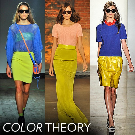 2012 Spring Fashion Week Trend: Color Combinations