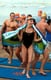 Wearing a swimsuit, Charlene Wittstock stepped out of the water in South Africa in February 2011. Source: Getty / Rajesh Jantilal/AFP