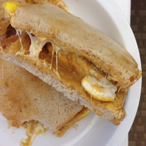Peeps Fluffernutter Sandwich