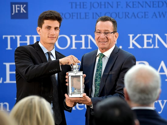 JFK's Grandson Jack Schlossberg Jokes About Post-Grad Life During Profile In Courage Awards Presentation: 'Why Didn't Any Of You
