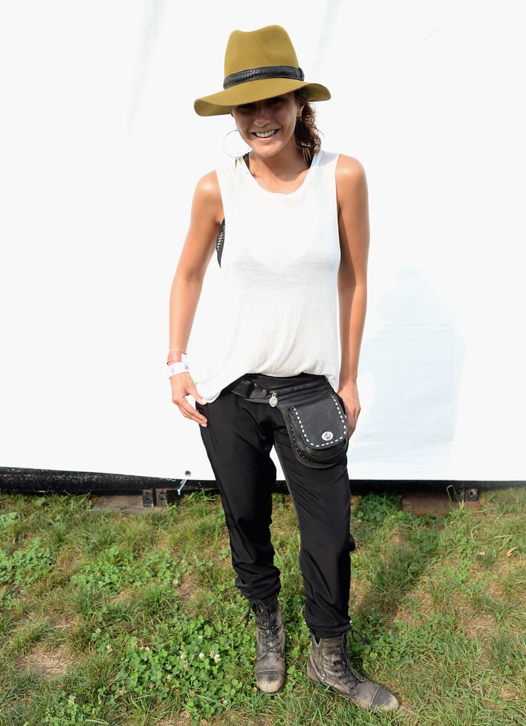 Actress Emmanuelle Chriqui stepped out for the festival.