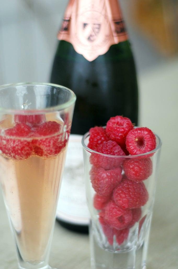 Raspberries and Rosé