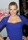 Busy Philipps showed off the gorgeous neckline of her Carven dress.