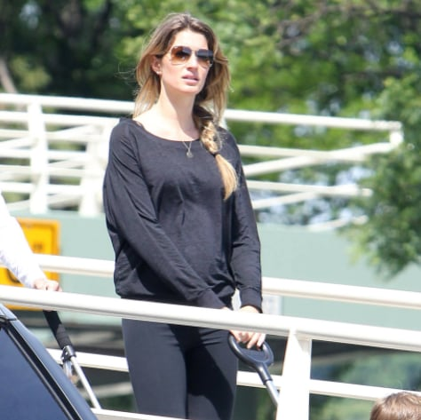 Gisele Bundchen and Benjamin Brady in the Park Pictures