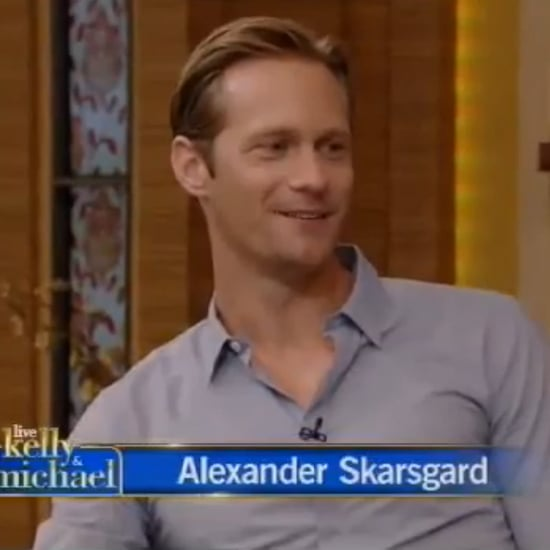 Alexander Skarsgard Interview on Live With Kelly and Michael
