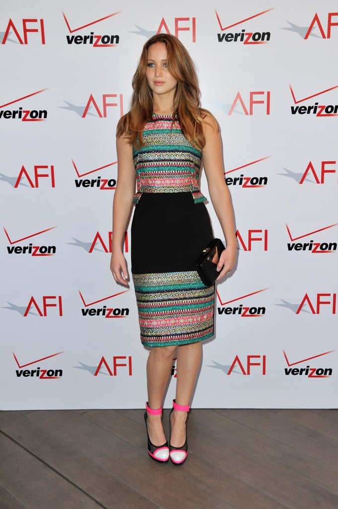 Jennifer Lawrence Gives Us Yet Another Prabal Gurung Look to Love