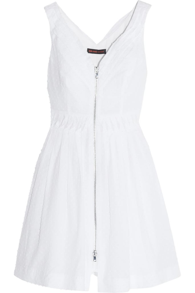 Kate Moss For Topshop White Dress