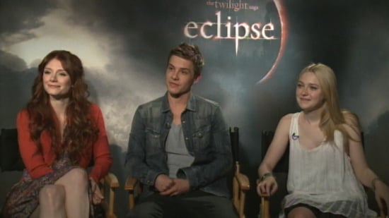 Video of Eclipse Cast Interview