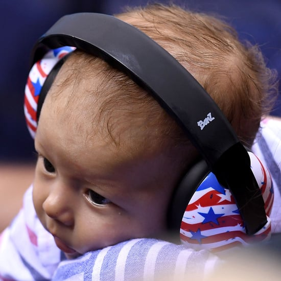Michael Phelps's Son Boomer at the Summer Olympics 2016