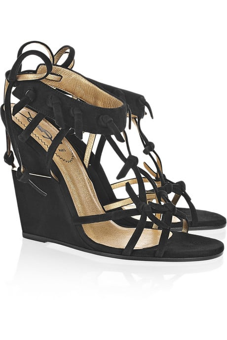 These Yves Saint Laurent Tribal Wedges ($1,050) exude major impact.
