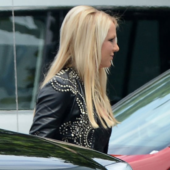 Britney Spears at Miami X Factor Auditions   Pictures