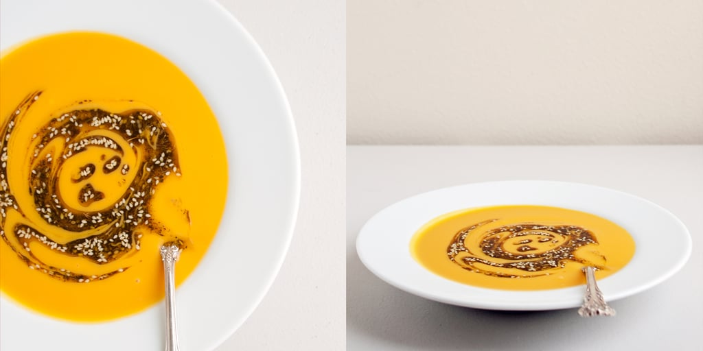 Get Sweet On This Za'atar-Oil-Swirled Soup