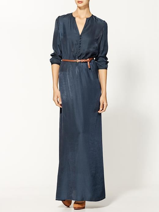 Breezy but with its sophisticated vibe, this Sabine suede, belted maxi dress ($70, originally $79) would look totally polished on weekends.
