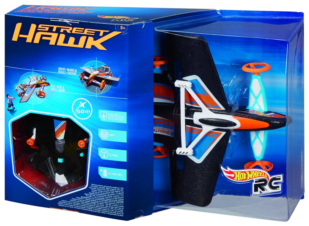 For 8-Year-Olds: Hot Wheels RC Street Hawk