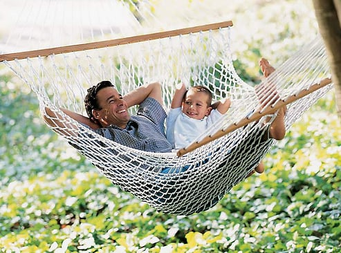 Guess What This Hammock's Made From?